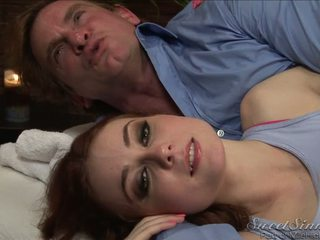 Zoe Voss Evan Stone Behind The Scene From The Masseuse Dvd