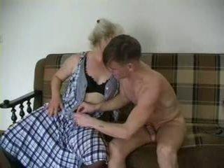 Sexy stará mama lena a alex