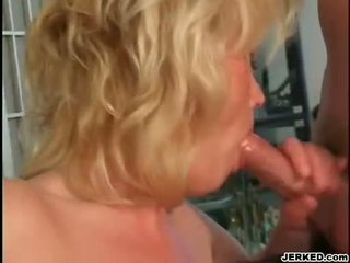blowjobs, blondes, mature
