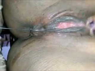 all squirting hot, most close up fresh, quality black and ebony watch