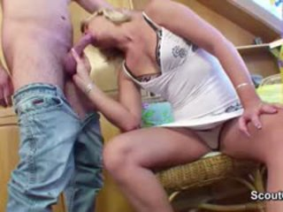Step-Son Seduce 43yr Old German Step-Mother To Fuck