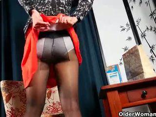 new cougar, gilf ideal, tights check