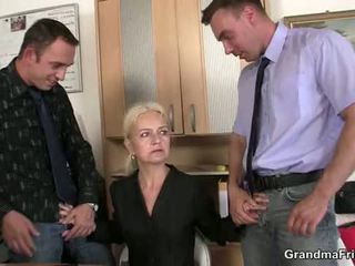 fresh mommy most, old pussy, watch grandmother check