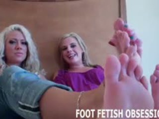 Worship Me And My Friend Roxie's Sexy Feet
