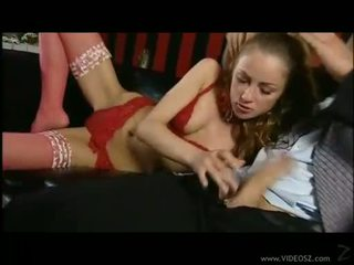 Stunning Gilda Roberts bounces her tight asshole on a huge throbbing prick