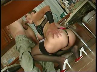 Mature Russian Emilia Fucks in the Ass with a Guy: Porn 3d