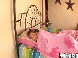 Hot young chick violated in sleep