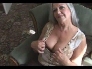 erotinis, grannies, bręsta, masturbacija