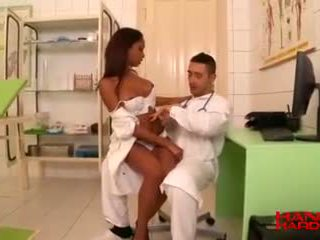 Clinical Threesome Doctor Knocks The Backdoor In