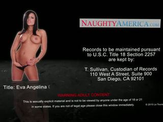 Busty brunette Eva Angelina fucking