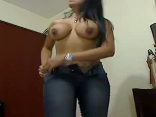 Sexy riesig boobed riesig arsch gf teasing
