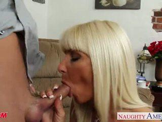 Pierced and tattooed mom Kasey Storm fucking