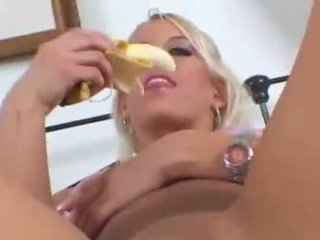 masturbacja, banan, fruits