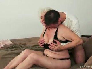 빨다, 늙은, 할머니