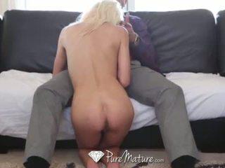 PureMature - Danny Mountain fucks skinny blonde Kali Kavalli <span class=duration>- 10 min</span>