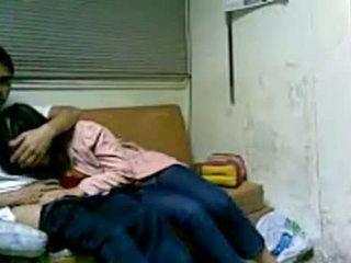 Kórejské dievča jebanie v internát po školské