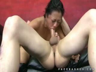 Throat Fucking Of Lucky Starr