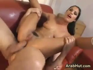 Sexy Arab Slut Being Double Penetrated