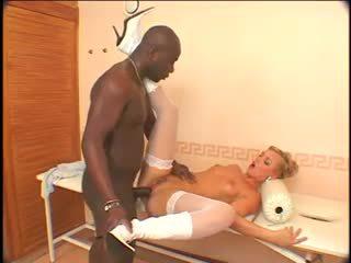Ellen saint - noir anal machine