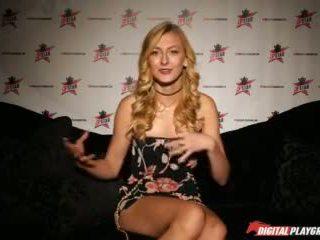 Dp Star 3 - Tall Stunning Blonde Alexa Grace Deep Throat Blowjob Video