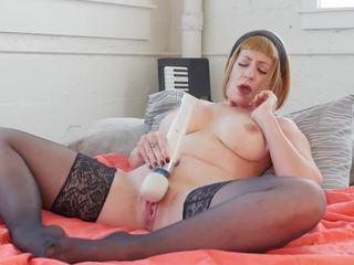Mẹ tôi đã muốn fuck starlette vibrates cô ấy cooshie, miễn phí khiêu dâm 62