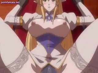 Anime gets juicy cunt penetrated