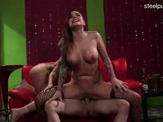Big boobs brutal anal gangbang