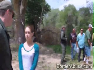 Trespassing the border could be a serious felony for hotties