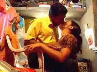Bhabhi Unzips Her Husband's Pants, Kneels In Front Of Him