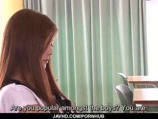 Subtitles - warga asia remaja nozomi nishiyama menghisap dan seks / persetubuhan