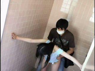 Teen molested by pervert on schooltoilet