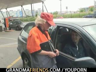 realybė, senas, senelė, močiutė