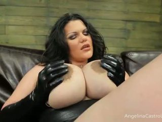 Grand titted angelina castro cocks domination!