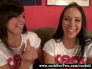 Melanie Scott vs Alexa Jordan - Cock for Two: Free Porn cd