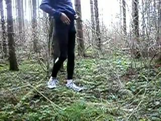 Cumming în wood