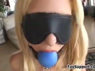 Hot Blonde Teen Slave Gets Punished