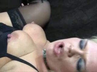 Bionda matura bella e grassa (bbw) anale