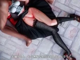 Teen hentai nympho gets slurping pussy fucked hard