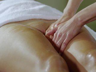 lesbians, small tits, massage