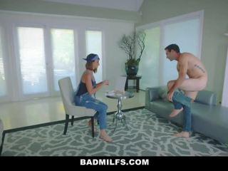 Badmilfs - Stepmom & Petite Teen Threesome