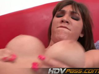 Brunette Teens Holly Michaels Like a Big Dick: Free Porn 51