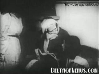 נדיר 1920s עתיק חג המולד פורנו - a חג המולד tale