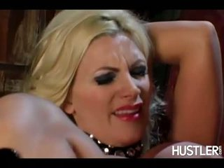 Naughty hot Audrey Bitoni toys on her lovers snatch making her reach orgasm