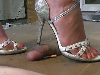 Geile sandaletten: volný nohapráci vysoká rozlišením porno video 53