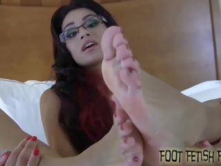 pov, foot fetish fun