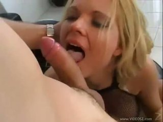 Faith Grant rides with a cock in her tight ass and fingers playing with her clit