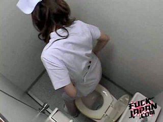 masturbazione, toilette, asiatico