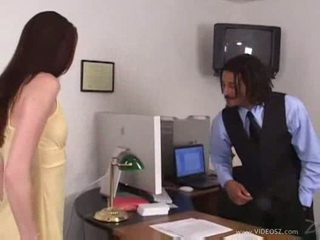 Hailey young office to bed banging