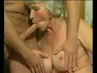 big boobs, gilf, atvirkštinio cowgirl
