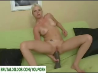 Monster Brutal Dildo Ass Gaping